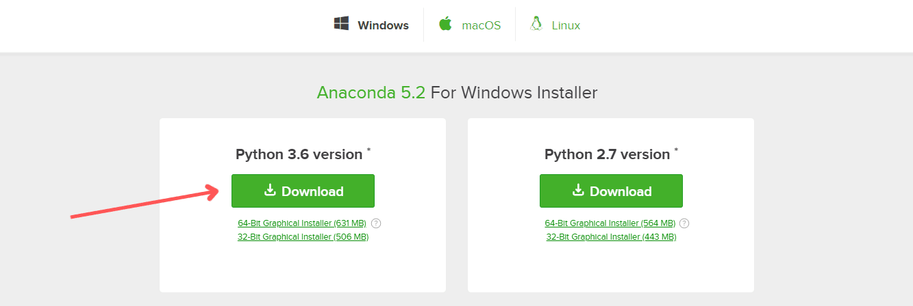 Anaconda Python - Downloading Anaconda for Python